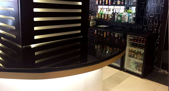 Ibis hotel bar, Airport City